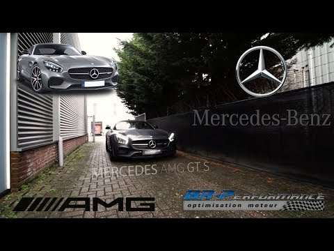 Mercedes AMG GTS Remap Stage 1 By BR-Performance