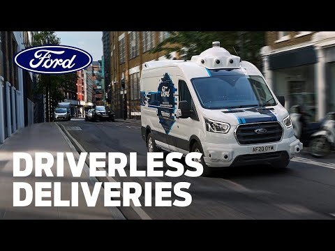 Ford and Hermes Explore the Future of Driverless Deliveries