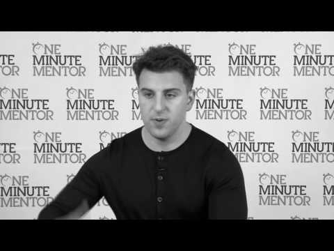 Hearst One Minute Mentor: Brian Chesky on Marketplace