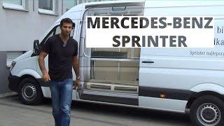 Mercedes-Benz Sprinter 313 CDI 129 KM, 2014 - test AutoCentrum.pl