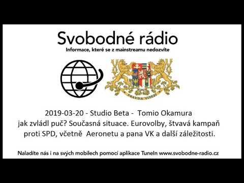 Tomio Okamura: Vystoupil jsem v přímém přenosu na Svobodném rádiu,.