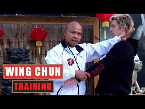 Basic Wing Chun training drill # 2 | Master Wong