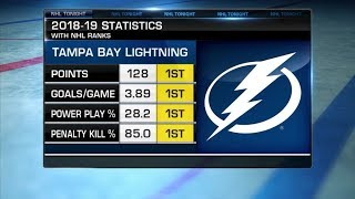 NHL Tonight:  Caley Chelios on Lightning`s expectations for 2019-20  Aug 19,  2019