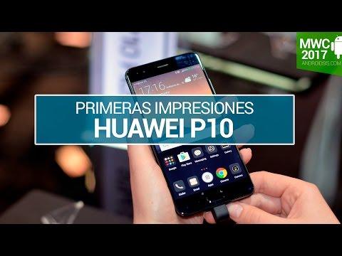 Huawei P10, primeras impresiones en MWC 2017