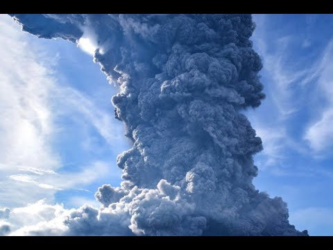 Prophecy Alert Day Turns Into Night Volcano Erupts Indonesia