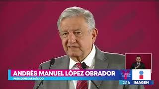 AMLO niega diálogo con el crimen organizado | Noticias con Yuriria Sierra