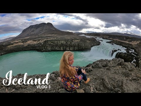 Southwest Iceland Road Trip Day 3: exploring inland waterfalls & geysirs
