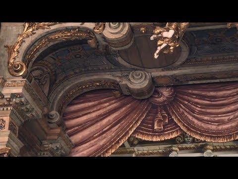 Das Bayreuther Opernhaus - Bedeutung Vorhang