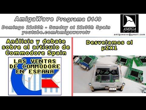 Programa #149 - Desvelamos el nuevo uZX1, ventas de Commodore y paseo por AmigaStore.