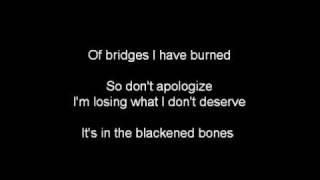 Burning in the Skies (Lyrics)