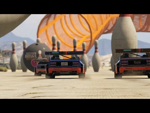 GTA 5: Race With Soccer Balls and Bowling Pins In Cunning Stunts DLC - IGN Plays - UCKy1dAqELo0zrOtPkf0eTMw