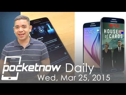 Galaxy S6 Netflix deal, HTC One M9+ invite, iOS 8.3 change & more - Pocketnow Daily - UCO_vmeInQm5Z6dEZ6R5Kk0A