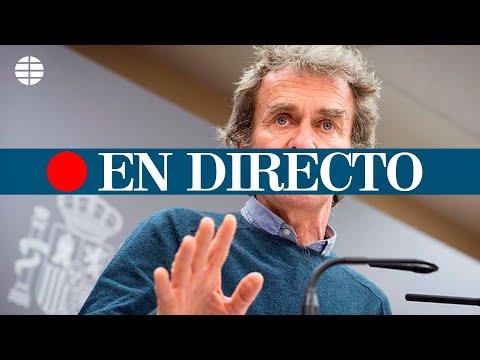 DIRECTO CORONAVIRUS | Rueda de prensa de seguimiento de la pandemia