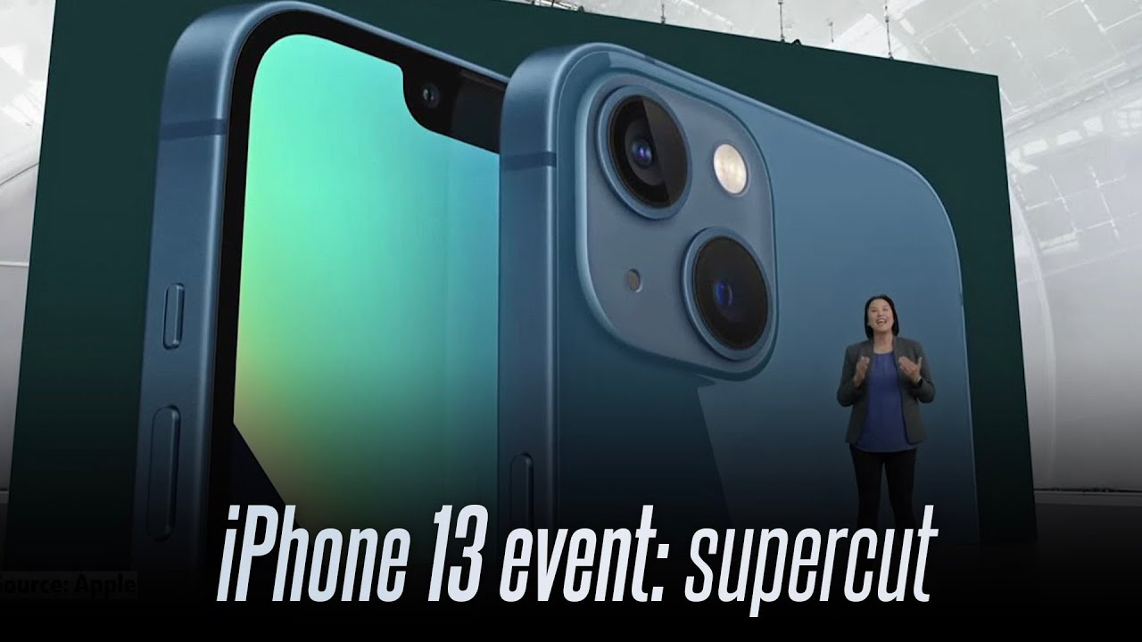 Apple iPhone 13 event highlights in under 13 minutes (supercut)