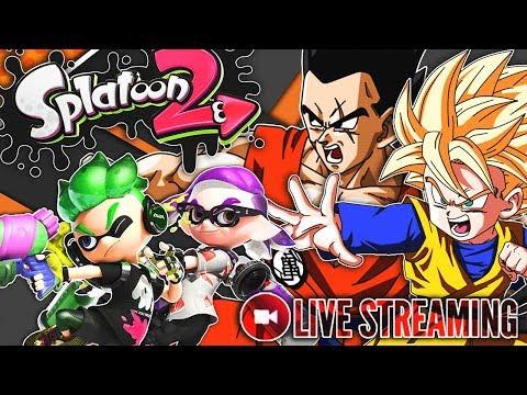 Goten & Yamcha Play Splatoon 2 Live Stream! Leave Questions Below!