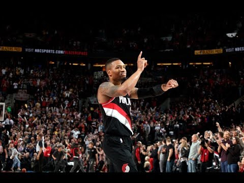 Damian Lillard Sinks GAME-WINNING 3-Pointer with .7 Seconds Left | November 2, 2017