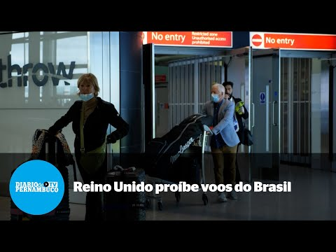 Reino Unido proíbe voos do Brasil