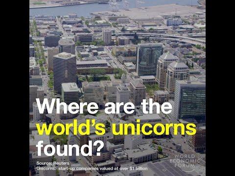 Where are the world's unicorns found?