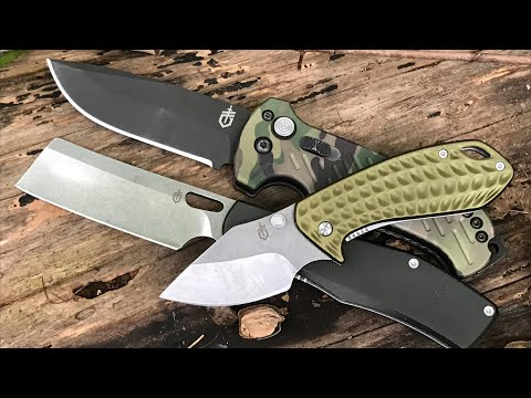 First Look: 3 Gerber EDC Knives I Like - Budget & High-End  Knife Options