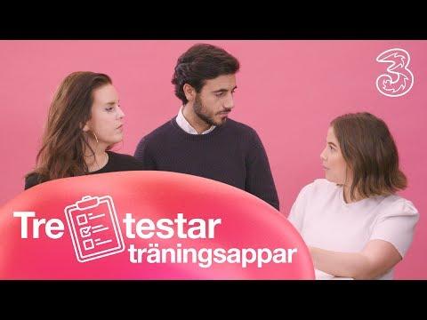 Tre testar träningsappar | Tre Sverige