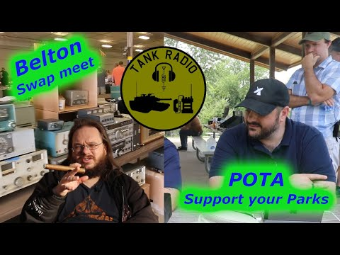 Belton Swap Meet and POTA Support your Parks