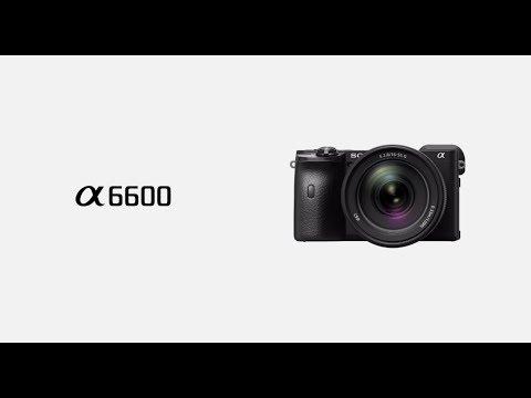 Новая камера со сменной оптикой Sony α6600.
