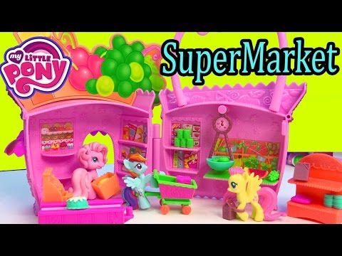 My Little Pony Supermarket Grocery Food Store Pinkie Pie Ponyville MLP Playset Unboxing Toy Review - UCelMeixAOTs2OQAAi9wU8-g