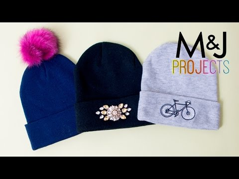 3 Ways to Make Your Beanie Stand Out