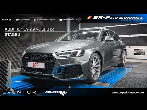 Audi RS4 B9 2.9 V6 BiTurbo / Stage 2 By BR-Performance