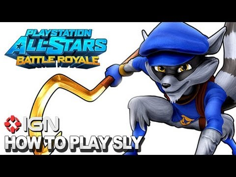 How to Use Sly Cooper in PlayStation All-Stars Battle Royale - UCKy1dAqELo0zrOtPkf0eTMw