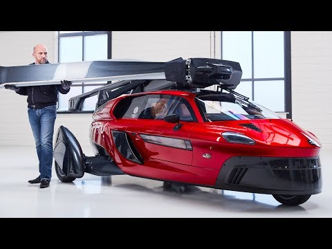 """World's first"" commercial flying car unveiled at Geneva Motor Show"