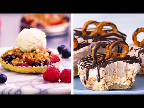 Salty, Sweet, Crunchy, and Petite! Yummy Bite Sized Dessert Ideas!   DIY Dessert Hacks by So Yummy
