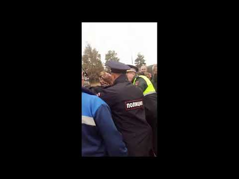В Зимстане заблокировали лесовозы