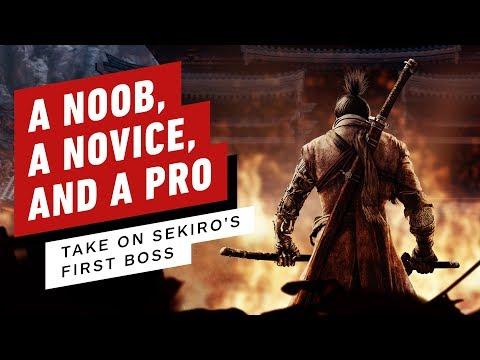 A Noob, Novice, and a Pro Take On Sekiro: Shadows Die Twice's First Boss - UCKy1dAqELo0zrOtPkf0eTMw