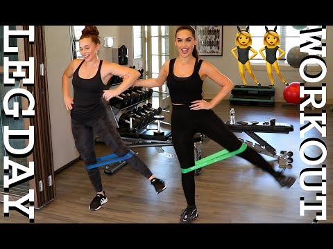 EASY AT HOME / GYM WORKOUTS FOR LEGS & GLUTES!