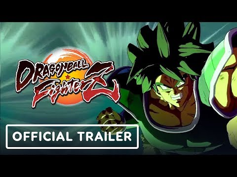 Dragon Ball FighterZ - Official Broly Launch Trailer