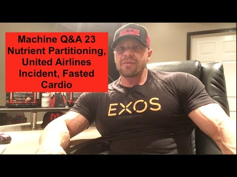 Machine Q&A 23 | Nutrient Partitioning, United Airlines Incident, Fasted Cardio