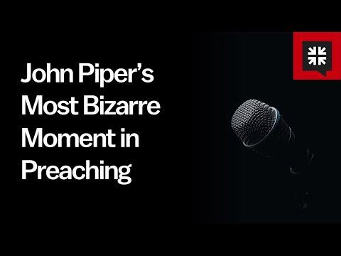 John Pipers Most Bizarre Moment in Preaching // Ask Pastor John