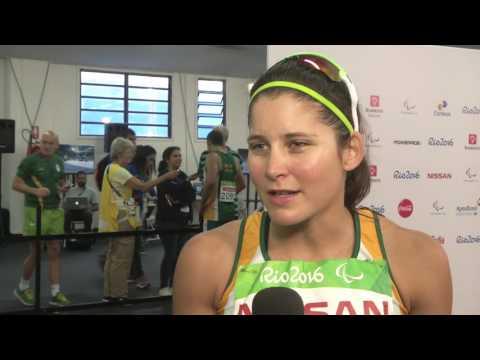 Team SA Paralympics 2016| Sasol Highlights Package | Ilse Hayes