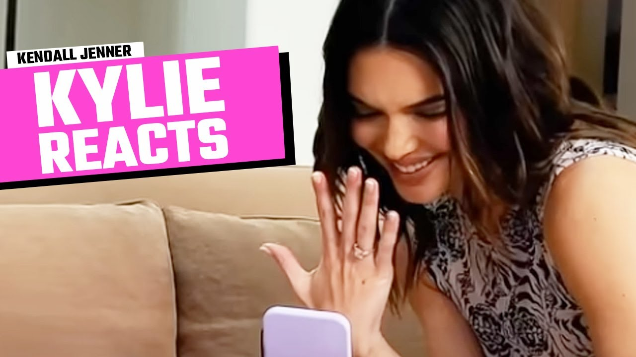Kylie Jenner Reacts To Kendall Jenner Engagement Prank