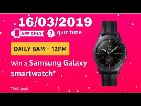 'Light-year' is a unit of _____. Fill in the blanks. Amazon quiz answer today