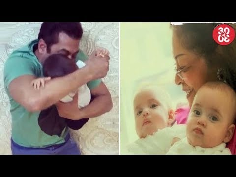 Salman's Masti Time With His Nephew Ahil | Karan Shares First Picture Of His Twins Yash & Roohi