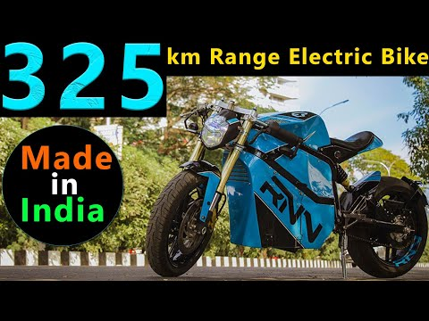 300 km Range Made in India Premium Electric Motorcycle - 13.0