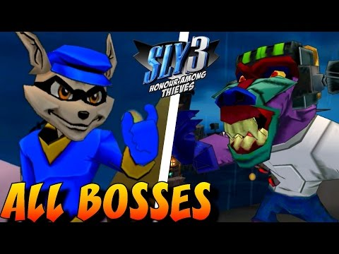 Sly 3: Honor Among Thieves - All Bosses (No Damage) - default