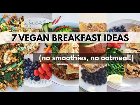 Week of Vegan Breakfasts! NO OATMEAL, NO SMOOTHIES ?(7 SAVOURY VEGAN BREAKFAST IDEAS)