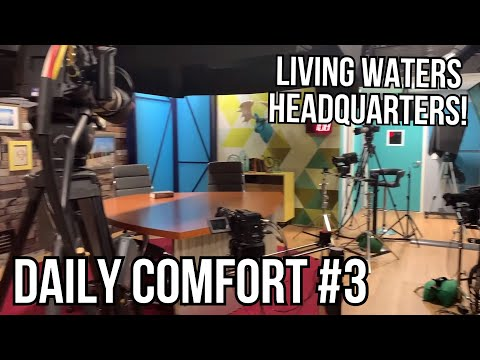 Ray Comfort Reveals Living Waters' Headquarters!  Daily Comfort #3