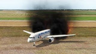 Ural Airlines Crash, Ural Airlines A321 Crashes After Takeoff, Zhukovsky Airport [XP11]