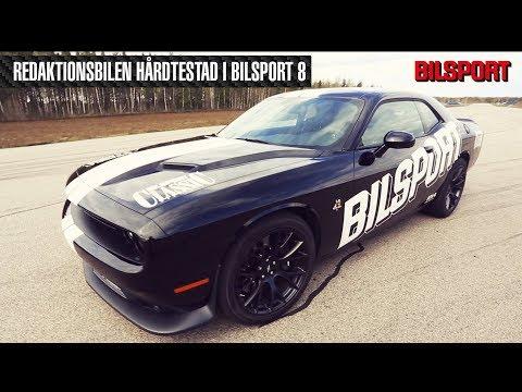 Bilsports Challenger hårdtestad i Bilsport 8!
