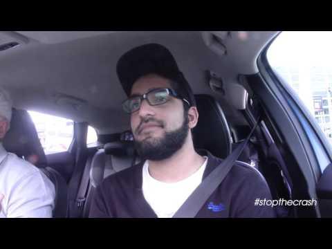 #STOPTHECRASH at The London Motor Show - Aymon Khan