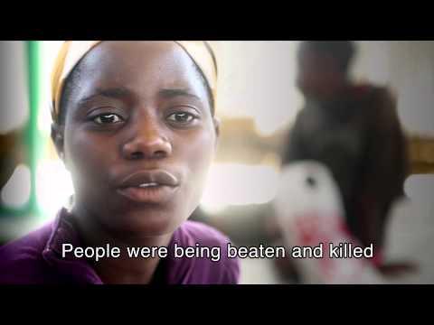 Syskon på flykt från våldet i Burundi